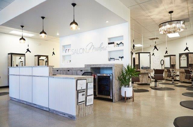 <p>The new Salon Midori in Yorba Linda, California.</p>