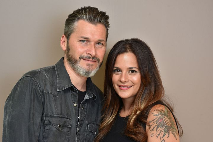 James and Angela Alba, owners of The B Hive Salon in Hillsdale, NJ.