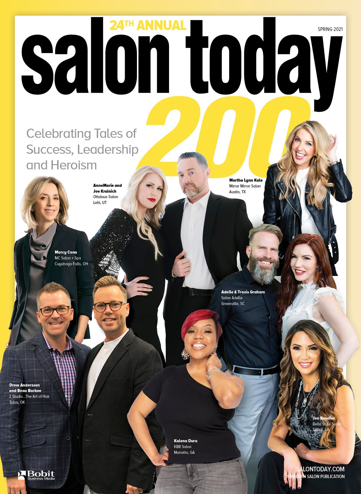 Announcing the 2021 SALON TODAY 200 Honorees