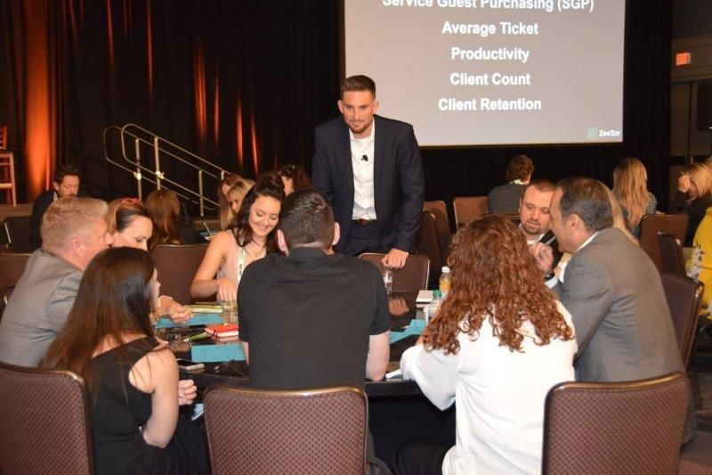 <p>Organizing around a specific KPI, a group of salon owners discuss how to keep one another accountable.&nbsp;</p>