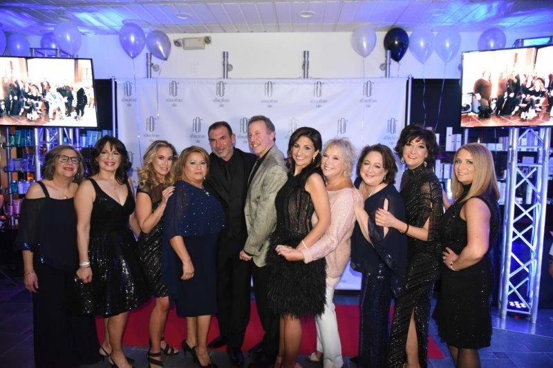 <p>The honorees pictured at the runway event. From left:&nbsp;Debbie Loss Rimler of Northport; Aracelis Vanek of East Northport; Ronit Birns of Plainview; Blanca Nolasco of Huntington; Anthony DeFranco, owner of Anthony DeFranco Salon &amp; Spa; Ken Richter, co-owner of MIEKA Boutique; Angela Ruggeri of Westbury; Linda Nuszen of Patchogue; Korrine Weil of Plainview; Andrea Jones of Bellmore; and Mara Navaretta of Woodbury.</p>