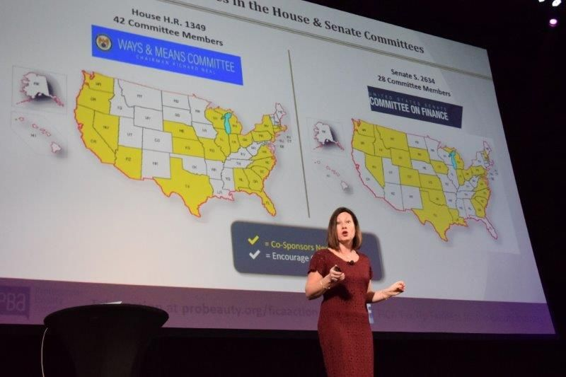 <p>Salon Owner Paola Hinton provides an update on FICA Tip Tax Legislastion showing a map of states where the industry still needs help.&nbsp;</p>