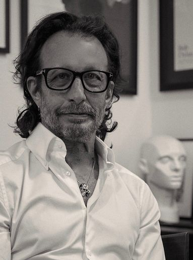David Kinigson, the author of The Haircutter's Handbook.   -