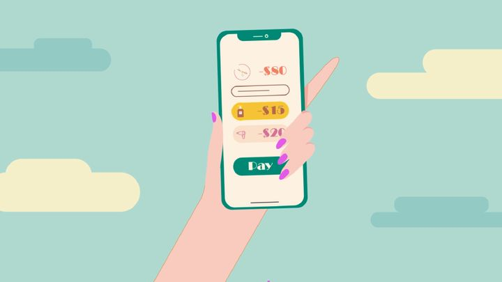 Salons can even embrace tech tools that allow service providers to add upgrades and products to the client tickets during the service. Image by Zenoti.  -