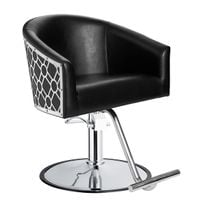 Introducing Minerva's Art Deco, Metal-Wrapped Styling Chair