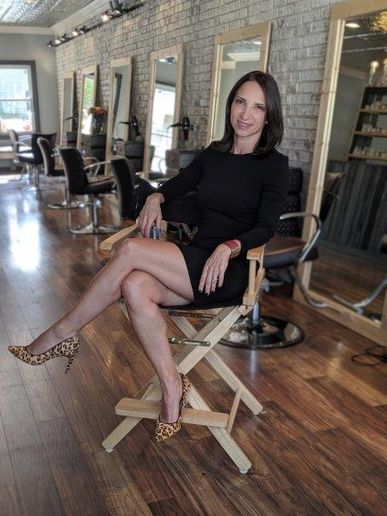 Amy Pal, owner of Whip Salons in Connecticut. 