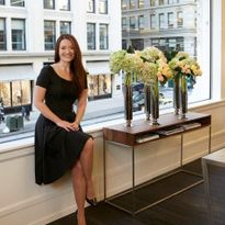 Eva Scrivo, owner of Eva Scrivo Salon in New York.