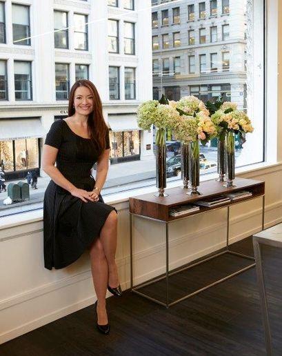 Eva Scrivo, owner of Eva Scrivo Salon in New York.  -