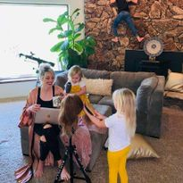Sam Villa ArTeam Member Anna Peters offers some tips for juggling work and kids from home during...