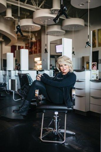 Laura Ortmann, owner of Ginger Bay Salon and Spa in St. Louis. 