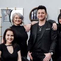 Rob Burgio and the team from Tesora Salon in Snyder, NY.
