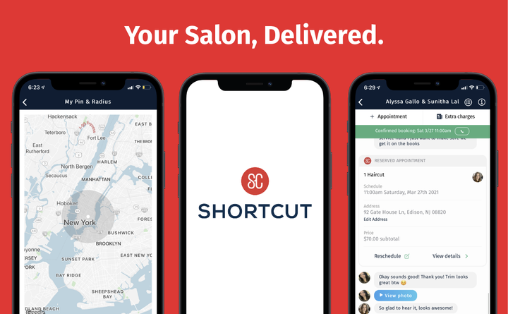 A new technology helps salons expand their geographic reach and retain top talent by offering clients in-home beauty services.   -