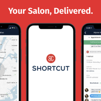 Shortcut Partners with Top Salons to Deliver In-Home Hair and Beauty Services