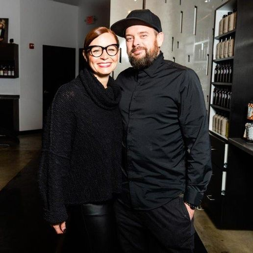 Nicole and Charles Gillick implemented some creative business strategies to keep their team booked and working after the shutdown, and so far the salon has beat their 2019 numbers month after month, despite the fact they are seeing fewer clients because of state restrictions. 