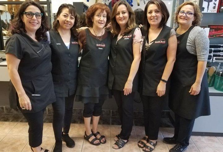 The team from Hair Base Salon and Spa in Chicago, Illinois.