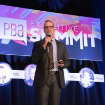 PBA Executive Director Steve Sleeper opens the 2018 Executive Summit.