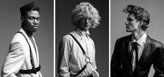 <p>The collection from the Men&#39;s Hairstylist of the Year Gold Winner Renat Murzahaleiev of HDRM Salon from Ukraine.&nbsp;</p>