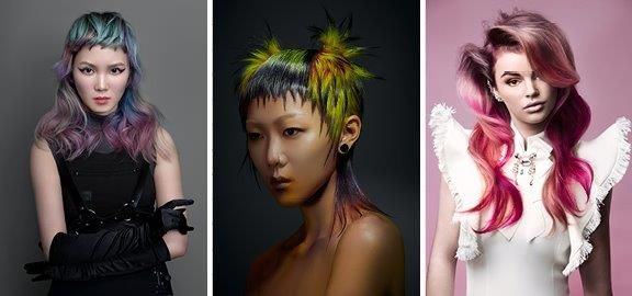 <p>The winners for New Talent. For Bronze, Chloe Ng from China, for Gold Harley Liu from Taiwan, and for Silver Britt Sturing, Netherlands.&nbsp;</p>