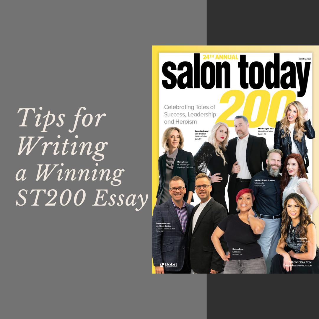 Tips for Writing Winning ST200 Essays!