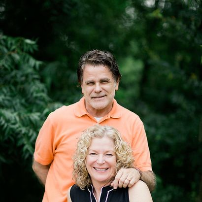 Bruce and Teresa McGaha, owners of Mouton's Salon in Grapevine, Texas.