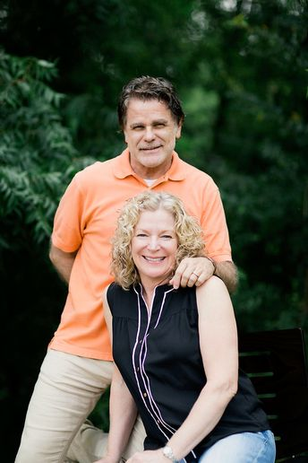 Bruce and Teresa McGaha, owners of Mouton's Salon in Grapevine, Texas.   -