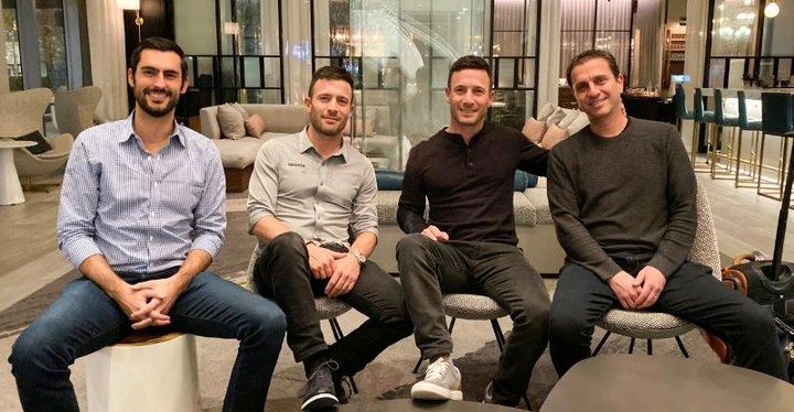 SpotOn Co-Founders from left: RJ Horsley (President), Zach Hyman, Matt Hyman and Doron Friedman. 
