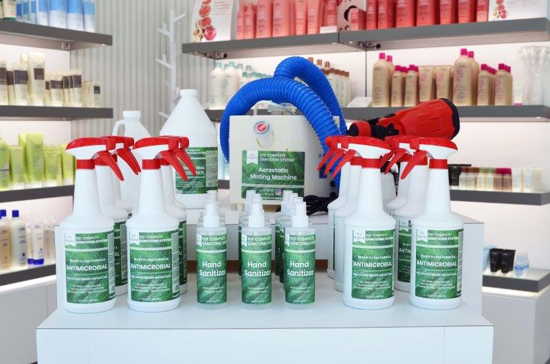 A Salon Owner's Investigation into Sanitizing Systems Leads to a New Retail Opportunity