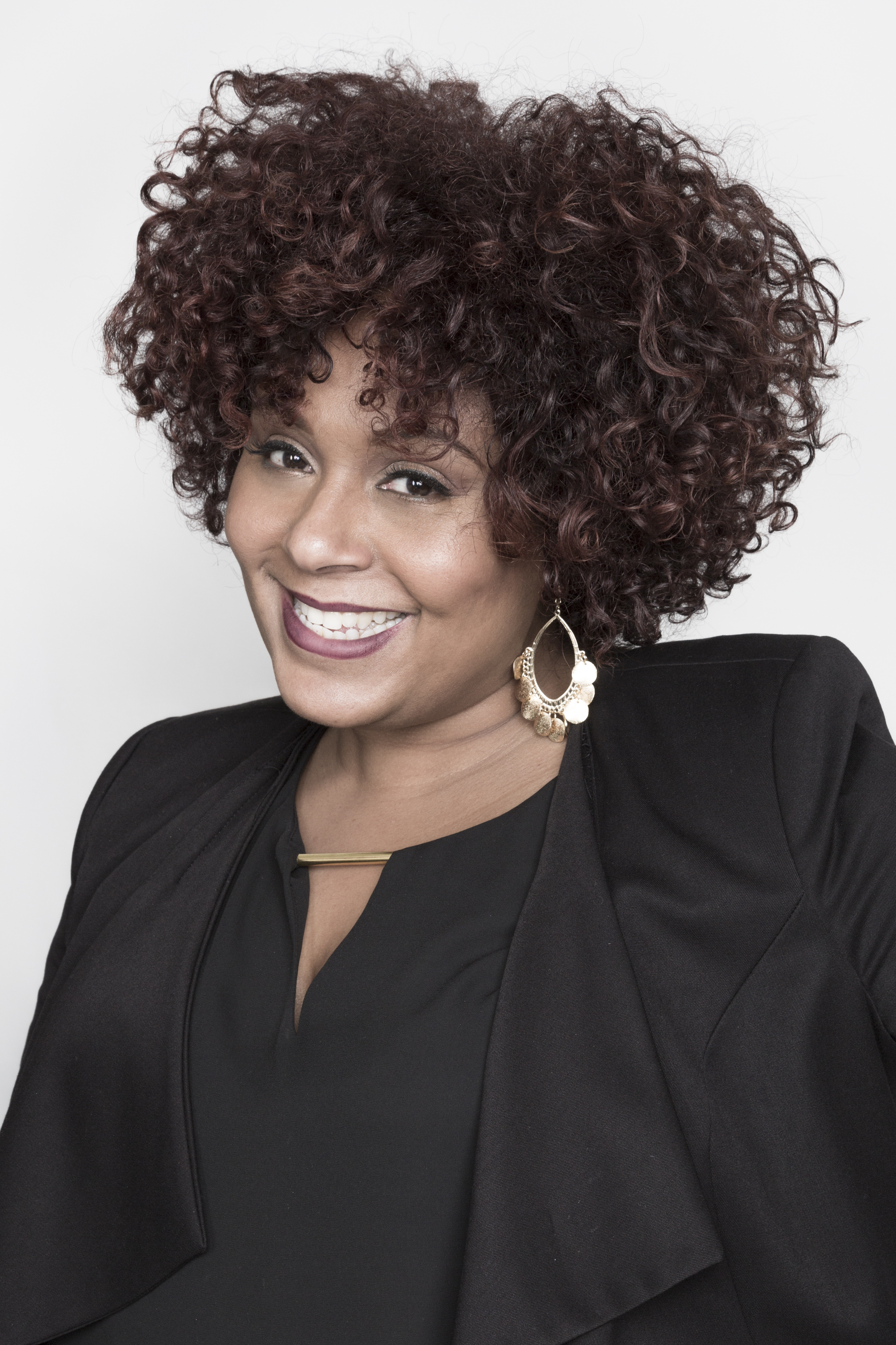 Michaella Blissett Williams, owner of Salon 718, with four locations in Brooklyn, New York.  -