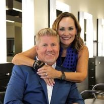 Scott and Mary Randolph, owners of three Randolph's Salons in southeast Michigan.