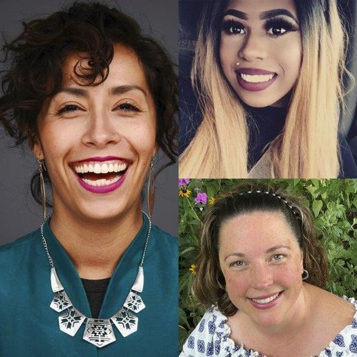 Clockwise from left: Casandra Corrales, Alexis Pitts and Erin Schaaf were recently honored with Rosy Rewards scholarships. 