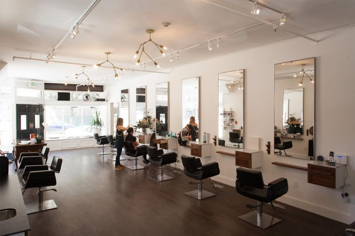 An inside look at the David James Salon.   -