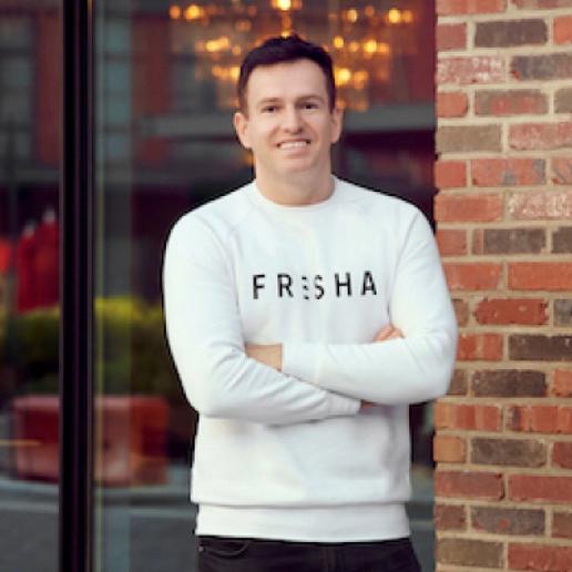 William Zeqiri, CEO and founder of Fresha.   -