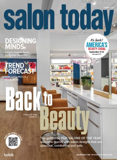 As the Grand-Prize Honoree of the 2021 Salons of the Year, Therapy Hair Studio graces our Summer Cover.   -