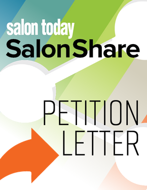 Salon/Spa COVID-19 Crisis Petition Letter to the State of Massachusetts