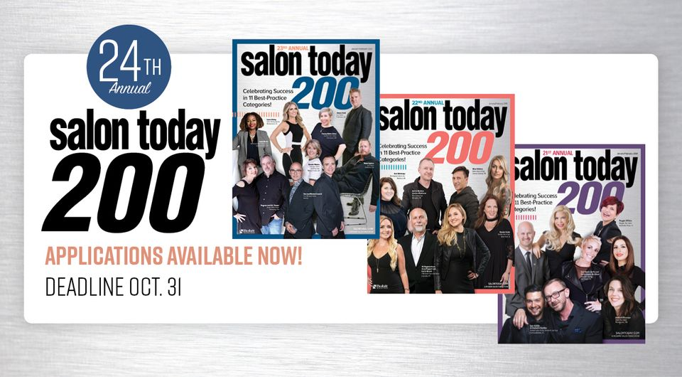 Salon Today 200, Apply Today!