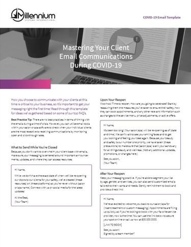 Mastering Your Client Email Communications During COVID-19