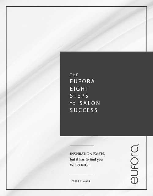 The Eufora Eight Steps to Salon Success