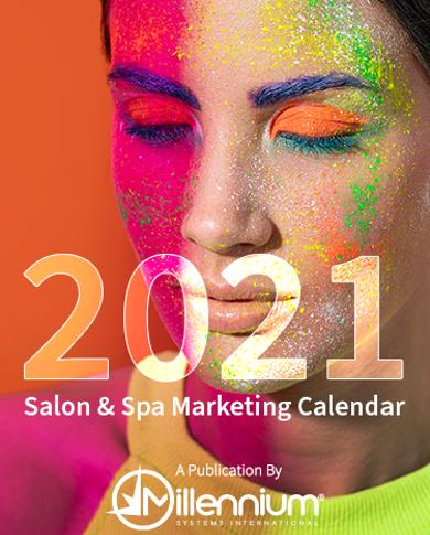 2021 Salon and Spa Marketing Calendar