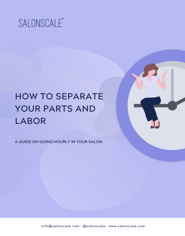 How to Separate Your Parts and Labor